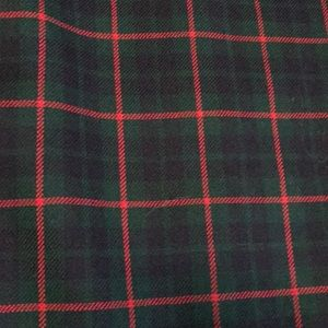 Pendleton long Wool Red Green Blue Plaid Skirt 16